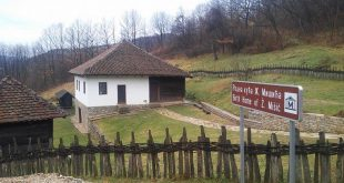 Na pragu rodne kuće Živojina Mišića
